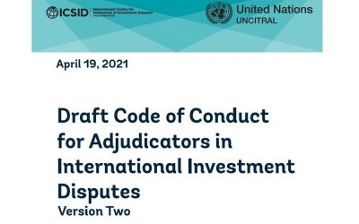 AFFAKI submits comments on Code of Conduct for Adjudicators in International Investment Disputes